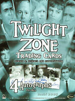 TWILIGHT ZONE SCIENCE & SUPERSTITION  SERIES 4  DEALER SELL SHEET RITTENHOUSE