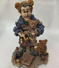 "1997 Boyds T. H. ""Bean�.The Bearmaker Elf Bears Wee Folkstone Figurine Rare"