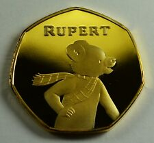Brand New Collectable RUPERT THE BEAR 24ct Gold Commemorative. Albums/Collectors