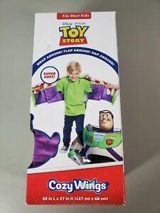 "Cozy Wings Toy Story Buzz Lightyear Wearable Wrap Flap Around Blanket 50"" x 27"""