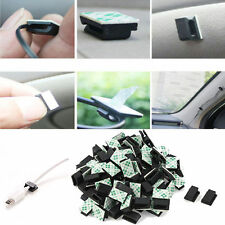 30Pieces Car Wire Cable Holder Tie Clip Fixer Organizer Drop Adhesive Clamps New