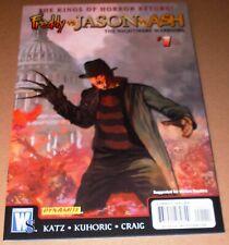Freddy vs Jason vs Ash #1 Krueger Variant 2009 Nightmare Warriors Arthur Suydam