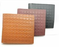 Dot Leather Wallets for Men + 7 Card & Zipped Coin Pocket 2 Note Compartment