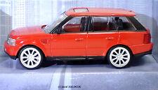 """MondoMotors 53195 RANGE ROVER Sport  """"Rosso"""" - METAL Scala 1:43"""