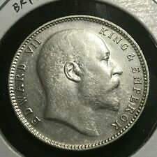 1904  BRITISH INDIA SILVER ONE RUPEE HIGH GRADE COIN