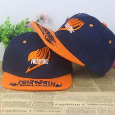 Anime Fairy Tail cotton baseball cap Punk Sun hat cosplay gift Hip-hop Outdoor