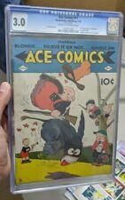 Ace Comics #11 RARE 1st App. The Phantom Pre-Dates Action Comics #1 1938 CGC 3.0