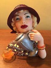 Cameo Girls Head Vase Abigail 1936 MIB  FREE SHIPPING