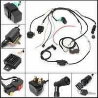 Wiring Harness Loom Solenoid Coil CDI 50/90/110/125cc Quad Pit Dirt Bike ATV >
