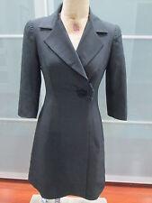 Trina Turk Los Angeles Palm Springs Wool Silk Blend Coat Size 2