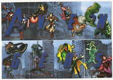 Avengers: Age of Ultron  Avengers Connection  Silver  ACB  Set ( 8 Cards)