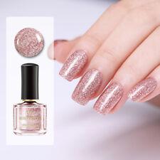 BORN PRETTY Rose Gold Nail Polish Shiny Glitter Varnish Manicure Decoration 6ml
