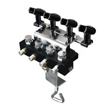 OPHIR Airbrush Holders with 1/8 & 1/8 Splitter for 4pcs of Airbrush Kit