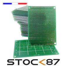 923B# 1 à 10 pcs  plaque d'essais à pastille format 5x7 cm   -- breadboard PCB