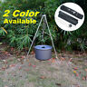 Outdoor Camping Picnic Cooking Tripod Hanging Pot Campfire Grill Stand