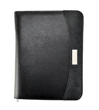 ARPAN A5 ZIPPED Business Executive Conference Folder With Calculator Pad Ring