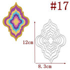 DIY Metal Geometry Cutting Dies Stencil Scrapbooking Embossing Paper Card Decor