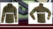 Invader Gear Militär BW Kommando Shirt Combatshirt Ripstop Woodland
