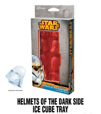 Classic Star Wars Helmets of the Dark Side Ice Cube Tray with 8 Cube Slots NEW