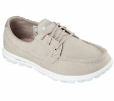 Skechers Flat (less than 0.5') Canvas Shoes for Women