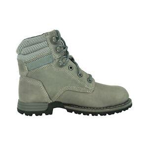 "Caterpillar Women's Paisley 6"" Industrial Boots Gray Size 6.5"