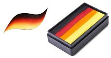 Global Colours 30g MEXICO Fun Stroke Rainbow Cake, Professional Face Paint