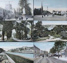 BRISTOL: Set of Six Postcards c1907 - Pub by M.J.R. - B. (ALL POSTCARDS SHOWN)