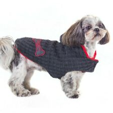 Brown and Orange Dog Winter Clothes Shih Tzu Terrier Animal Pet Sweater Jacket