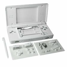 Nintendo DS Lite Full Replacement Housing Shell Screen Lens Polar White NEW! US!
