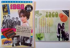 1960 57th Birthday Gifts Set - 1960 DVD , CD and Card - CD Card Company.