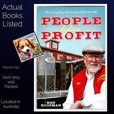 People Before Profit Ken Koopman Bob's Red Mill Story Signed By Bob Moore PB VG