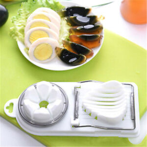 2 in 1 egg slicer mushroom tomato section cutter mold kitchen chopper too rI