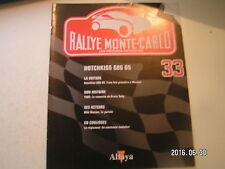 ** Altaya Rallye Monte-Carlo n°33 Hotchkiss 686 GS / Bruno Saby / Miki Biasion
