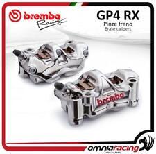 Brembo Racing pair of CNC GP4RX P4 32 108mm radial calipers Lh + Rh + brake pads