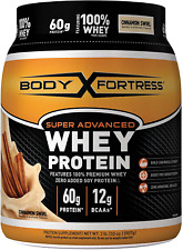 Body Fortress Super Advanced Whey Protein Powder, Cinnamon Swirl, 2 Pounds