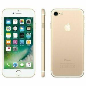 Apple iPhone 7 128GB Fully Unlocked (GSM+CDMA) AT&T T-Mobile Verizon Gold