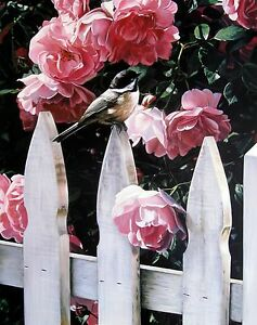 """Terry Issac, """"Millie's Garden"""", open ed poster,  20""""h x 16""""w image size"""