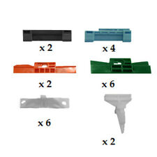 HONDA CIVIC 5DR 2000 - 2006 WINDSCREEN SIDES CLIP KIT PACK OF 22