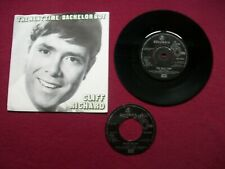 "Cliff Richard - The Next Time/Bachelor Boy UK 7"" 45 PS Reissue EMI DB 4950 M-/EX"