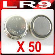 50 x LR9 PX625A EPX625G V625U 1.5v Alkaline Batteries