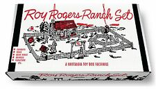 Marx Roy Rogers Ranch Play Set Box