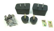 Akai Gx365D Gx Reel Deck Part - Case Feet w/ Mounting Screws -Enclosure Foot Set