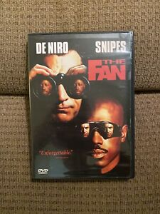 The Fan DVD 1997 Action Adventure Baseball Robert De Niro **Movie With Case**