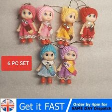 2020 6 pc NEW Kids Toys Soft Interactive Baby Dolls Toy Mini Doll 8 CM For Girls