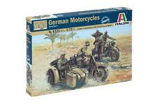 Italeri 1/72 German Motorcycles WWII # 6121
