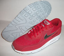New Nike Air Max 90 Essential Running, Men's Size 13, Red/Silver, 537384-602