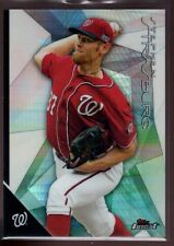 STEPHEN STRASBURG MINT PRISM REFRACTOR #25 SP 2015 FINEST TOPPS CHROME NATIONALS