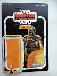 1981 BOBA FETT EMPIRE 41 BACK RESTORE KIT SELF ADHESIVE HOME YOUR VINTAGE FIGURE