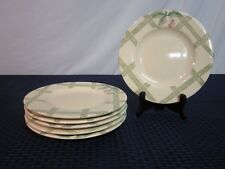 "Set of 6 Pfaltzgraff 8.25"" Salad Plates. Garden Party 1991-. USA. NICE."