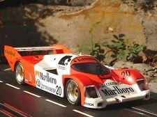 BRM Porsche 962c Design marlboro en 1:24 también carrera Exclusiv brm051